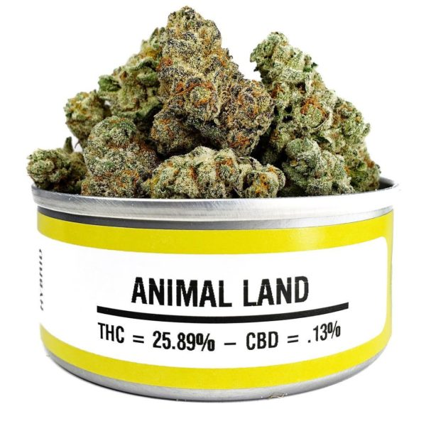buy animal land weed cans