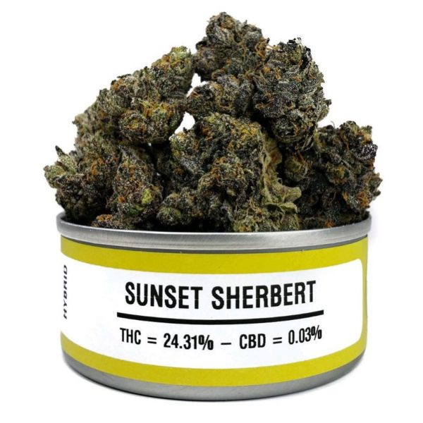 Buy Sunset Sherbert Weed Cans